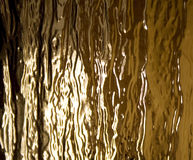 Glass abstraction. Glass golden and liight abstraction royalty free stock image