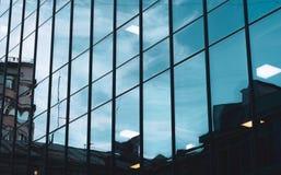 Glass affärscentrum Modernt utforma arkivbilder