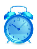Glass alarm clock Stock Photos