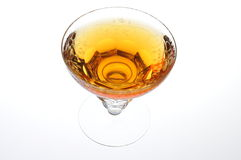 A glass of alcohol Royalty Free Stock Photos