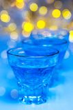 Glass with alcohol drink Stock Photography