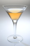 Glass of alcohol Stock Images