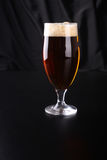 Glass of amber ale Stock Photography