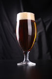 Glass of amber ale Royalty Free Stock Photo