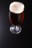 Glass of amber ale Royalty Free Stock Photography