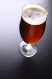 Glass of amber ale Royalty Free Stock Images