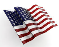 Glass American flag Royalty Free Stock Photos