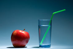 Free Glass And Apple Royalty Free Stock Photo - 4531835