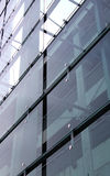 Glass And Concrete Construction With Reflections Royalty Free Stock Photo