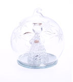 Glass angel Royalty Free Stock Images