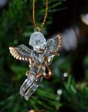 Glass angel Stock Photos