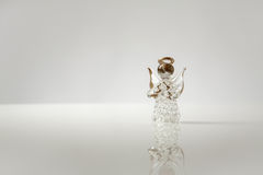 Glass Angel Royalty Free Stock Photography