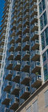 Glass Apartment Balconies Royalty Free Stock Images
