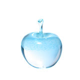 Glass apple Stock Images