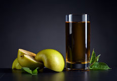 Glass of apple juice Royalty Free Stock Photography