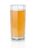 The glass of apple juice Royalty Free Stock Photo