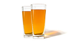A glass of apple juice Stock Photography