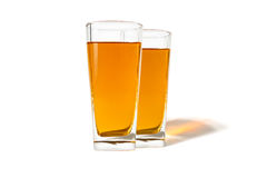 A glass of apple juice Royalty Free Stock Photography