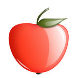 Glass apple Royalty Free Stock Images