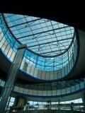 Glass arkitektur Arkivfoton