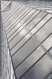 Glass arkitektur Del av strukturell modern glass skyscr Fotografering för Bildbyråer