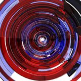 Glass Arrow Circular Spin Royalty Free Stock Images