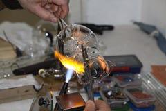 Glass artisan Royalty Free Stock Photo