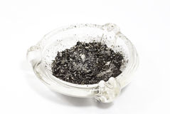 Glass Ash tray Stock Photography