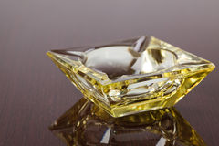 Glass ashtray Stock Images