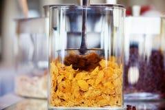 Glass ask av sädesslag Royaltyfri Fotografi