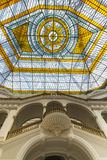 Glass atrium on the roof Royalty Free Stock Photos