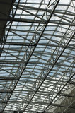 Glass atrium roof Royalty Free Stock Photography