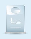 Glass award Stock Photos