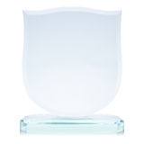 Glass award Stock Images