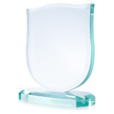 Glass award Royalty Free Stock Photos