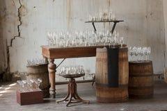 Glass bägare royaltyfri fotografi