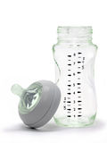Glass Baby Bottle Stock Photography
