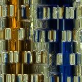Glass background pattern Stock Image