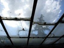 Glass bakgrund 3 Fotografering för Bildbyråer