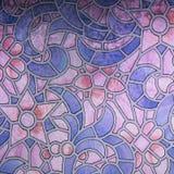 Glass bakgrund modell Royaltyfria Bilder