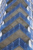 Glass balconies Royalty Free Stock Image