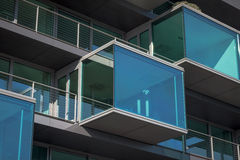 Glass Balcony Stock Photos