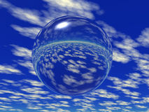 Glass ball. Abstract glass ball (see more in my portfolio Stock Photography