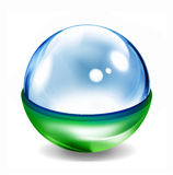 Glass ball Royalty Free Stock Photo