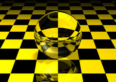 Glass ball Royalty Free Stock Image
