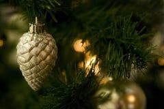 Glass Ball On The Christmas Tree Stock Image