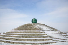 Free Glass Ball On The Embankment Of Dnepropetrovsk Stock Image - 86710751