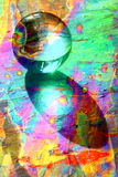 Glass Ball Psychedelic Stock Photo