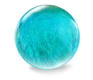 Glass ball with water Stock Photo