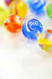 Glass balls. Abstract isolated with natural light Stock Photo